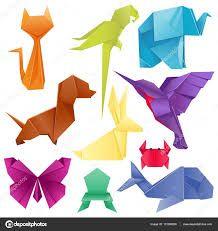 Resultado de imagem para animais de origami