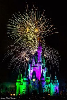 Disney Photo Snapper ~ Photography by Brett Svenson Disney Fireworks, Magic Kingdom, Image Photography, Disney Parks, Photo Credit, Fair Grounds, Purple, Building, Travel