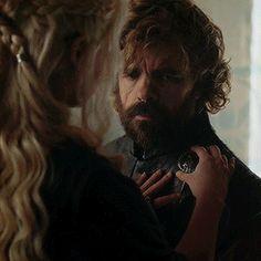Daenerys & Tyrion (6x10) Precious moment