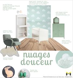 Magnificent Tendance Deco Chambre Bebe Garcon that you must know, You're in good company if you're looking for Tendance Deco Chambre Bebe Garcon Pinterest Instagram, Design Industrial, Interior Design Boards, Baby Bedroom, Color Pallets, Kids Room, Nursery, House, Home Decor
