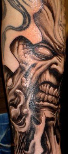 Paul Booth Skull Tattoos | Paul Booth