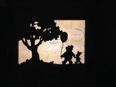 Winnie The Pooh Lamp Winnie Tiger Piglet Eeyore by StoryBoardLamps