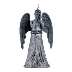Doctor Who Weeping Angel 5 1/4-Inch Glass Holiday Ornament