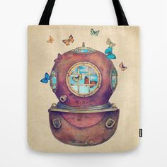 Inner Space Tote Bag by Terry Fan - $22.00