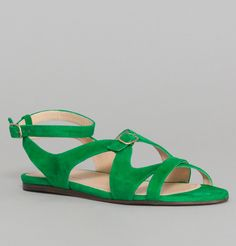 Sandales Naxos Menthe Tila March en vente chez L'Exception