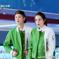 Dilraba with Luhan Keep Running, Running Man, Hollywood Actresses, Actors & Actresses, Sehun And Luhan, Ancient Armor, Kim Ji Won, Anime Couples Drawings, China