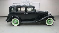 1933 Chevrolet Master Six (Series 'CA') 4 Dr. Sedan A in 'Gloss Black' with Gray Mohair interior , 206 C.I. Straight six inline engine