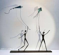 Wire Art Sculpture, Soft Sculpture, Proportion Art, Sculptures Sur Fil, Art Fantaisiste, Art Cart, Scrap Metal Art, Iron Art, Human Art