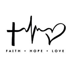 Tony and Kids motto! maybe tattoo #7? different cross style though