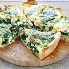 Spinach and Swiss Quiche | Frontier Co-op