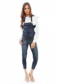 Blank NYC Criss Cross Back Overalls