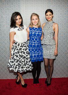 Starlets Victoria Justice, Vanessa Hudgens & AnnaSophia Robb Rock Alice + Eve Fashion Show