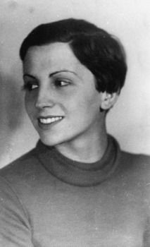 Gerda Taro (1910-1937) - German photojournalist regarded as the first female photojournalist to cover the front lines of a war and to die while doing so.  She was the companion and professional partner of photographer Robert Capa.