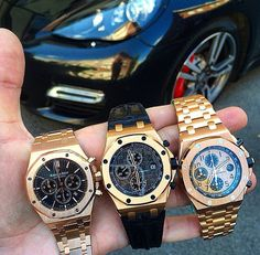 Collection of Audemars Piguet.