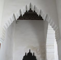 Bahia Palace Detail (Marrakech, Morocco) -    The Bahia Palace, set in extensive gardens, was built in the late 19th century by the Grand Vizier of Marrakech, Si Ahmed ben Musa (Bou-Ahmed). Bo...