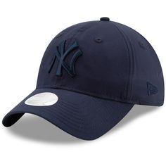 sports shoes 7904f 86d11 Women s New York Yankees New Era Navy Crisp Pick 9TWENTY Adjustable Hat,   23.99