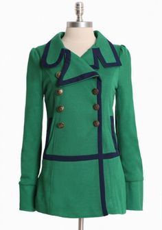 Bermuda Coat by Knitted Dove. This coat is super, love the colors and style!