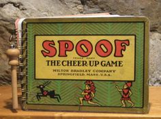 1918 Spoof Game Box Spiral Bound Notebook
