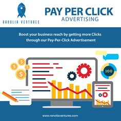 Generate High Quality leads and promote your brand through cost-effective PPC Campaigns. Ranolia Ventures utilize Google Analytics tool that yields instant visibility and website traffic.