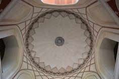 ceiling at Humayun's Tomb, Delhi, India Humayun's Tomb, India Gate, Incredible India, Beautiful Artwork, Taj Mahal, Mosaic, Antiques, Delhi India, Ceiling