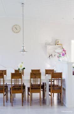 Keittiö ja talonpoikaistuolit