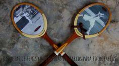 Cómo reutilizar una raqueta de tenis y convertirla en un marco de fotos....