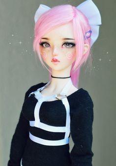 Flickr Anime Dolls, Ooak Dolls, Blythe Dolls, Barbie Dolls, Pretty Dolls, Beautiful Dolls, Kawaii Doll, Realistic Dolls, Doll Painting