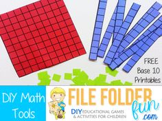 This site has several math tools that can be used in a lapbook