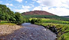 Some of the most scenic land I have ever seen  The River Dee