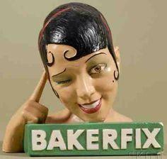 Josephine Baker Bakerfix Advertisement