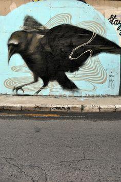 ~Mesa tarafından sokak sanatı. http://www.mozzarte.com/sanat/mesa-tarafindan-sokak-sanati/ … #streetart #art