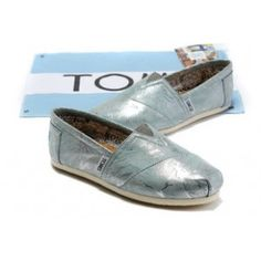 $29.49!! Toms Glitter For Women Cyan Shinning Sale on toms outlet.