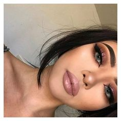 The Instagram BADDIE Makeup Look ❤ liked on Polyvore featuring beauty products, makeup, eye makeup, eye brow makeup, brow makeup, eyebrow makeup, highlight makeup and eyebrow cosmetics