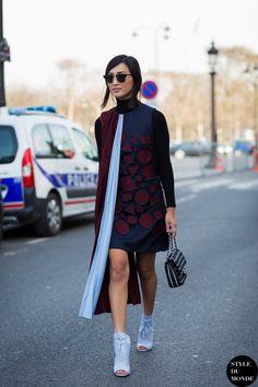 #New on #STYLEDUMONDE http://www.styledumonde.com with @garypeppergirl #NicoleWarne at #paris #fashionweek #pfw #marykatrantzou #outfit #ootd #streetstyle #streetfashion #streetchic #snobshots #streetsnaps #fashion #mode #style