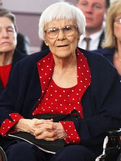 """Harper Lee Denies Rumors She Was 'Pressured' into Releasing New Book. The  88-year-old author of """"To Kill A Mockingbird"""" says, 'I'm alive and kicking and happy as hell with the reactions to Watchman,'Thursday morning, according to the BBC."""""""