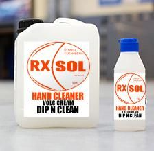 Dip-n-Clean cream Hand Cleaner will clean your sticky fingers in no time. After using resin / grease / oil / paint, take a small quantity in your hands and rub it in. Finally, clean your hands with towel  / paper or cleanse with water. ?