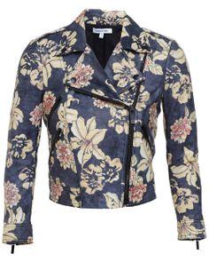 The Shak @ Stanley Korshak | Elizabeth & James Lily Erwan Print Leather Jacket
