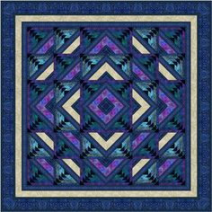Just gorgeous Designed by Jinny Beyer for RJR fabrics.  Will be excited to have this gorgeous kit in my shop!
