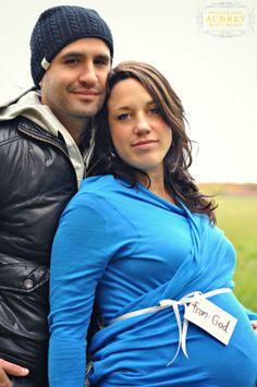 Rachel et Tim séance automne maternité