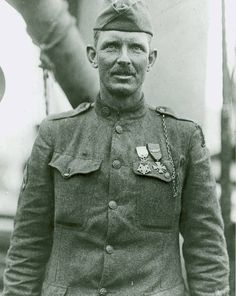 Alvin York received the Medal of Honor for leading an attack on a German machine gun nest, taking 32 machine guns, killing 28 German soldiers and capturing 132 others.
