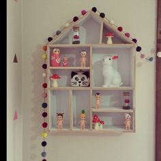 """Located in Warrnambool, """"Relax  Entertain"""" is a homewares store that loves to inspire you. Little house shaped shelf, pompom string."""