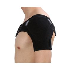Adjustable Shoulder Support Brace with Ice Pack Holder - The Natural Posture Shoulder Support Brace, Shoulder Brace, Shoulder Strap, Biceps, Shoulder Dislocation, Gel Ice Packs, Muscle Strain, Circulation Sanguine, Rotator Cuff