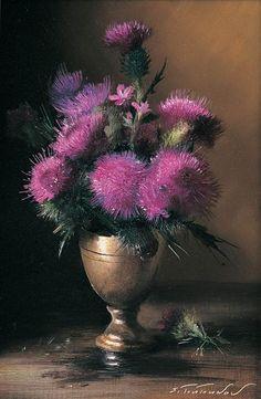 Немного лета в осенний вечер цветы от Serguei Toutounov