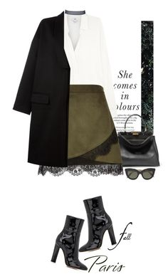 """OOTD"" by yagmur ❤ liked on Polyvore featuring Vince, Fendi, River Island, Givenchy, Gianvito Rossi and Victoria Beckham"