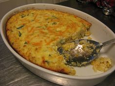 Barefoot Contessa's Corn Pudding