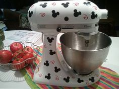 Fun Mouse Ear Mixer decal for KitchenAid or other mixers