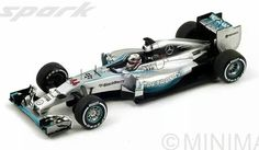 Lewis Hamilton, Mercedes F1 W05, Winner Italian GP 2014, Spark 1/43