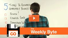 Five Things to Accomplish During Quarterly Business Reviews: The Weekly Byte [VIDEO]