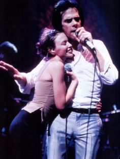 nick cave & kylie minogue - where the wild roses grow Nick Cave, Rowland S Howard, The Bad Seed, Black And White Portraits, Music Icon, Kylie Minogue, Couples In Love, Music Is Life, Film
