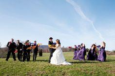 wedding games nerf guns 550x366 Inspiration: Wedding Fun & Games